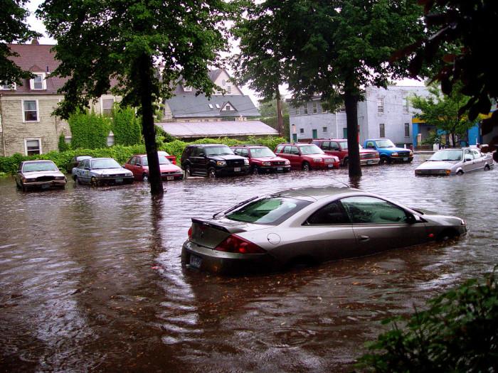 9. Flooding.