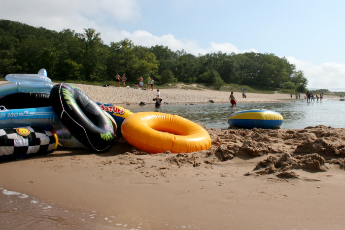 6) Go tubing on the Platte River.