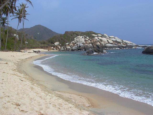 7. Our very own beach.