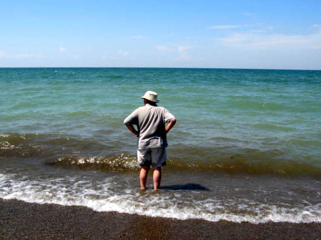 12. Have a beach day at Lake Erie.