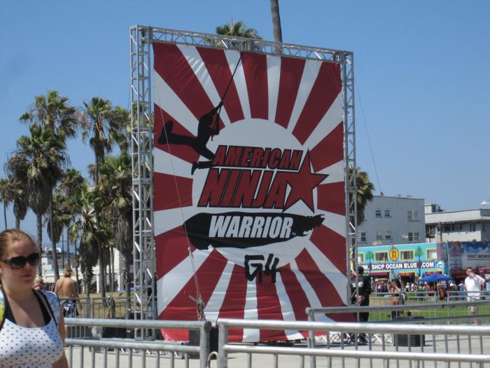 3. Geoff Britten became runner-up in American Ninja Warrior.