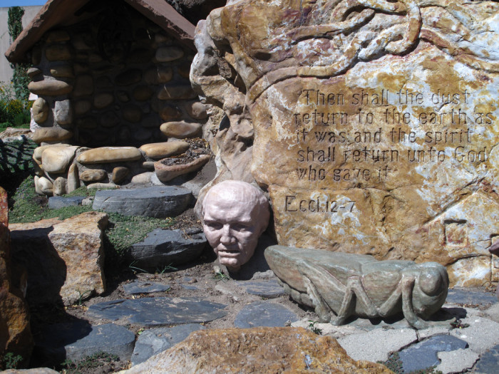7. From Alice in Wonderland: Gilgal Garden