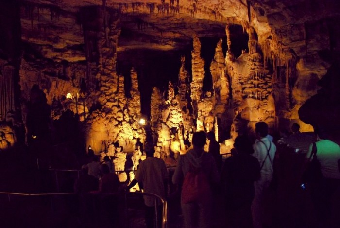 14. Take a tour of Cathedral Caverns.