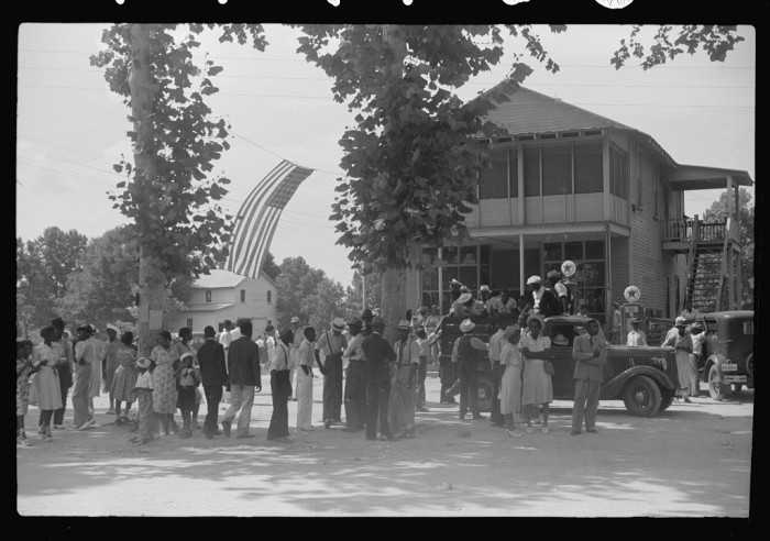 5. The 1939 4th of July picnic on St. Helena Island, SC.