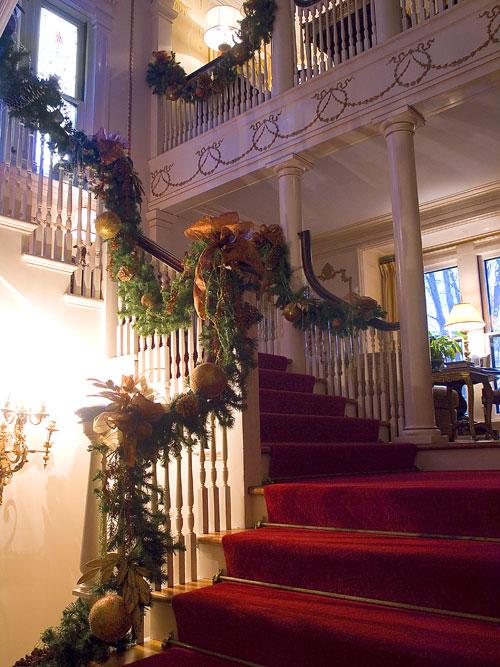 25. Decorated stairwells