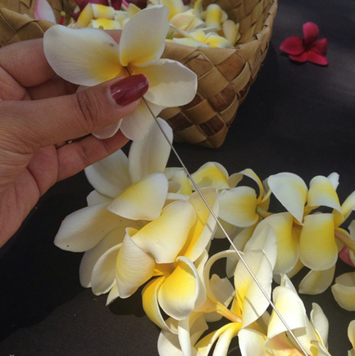 5) Learn to make a lei.