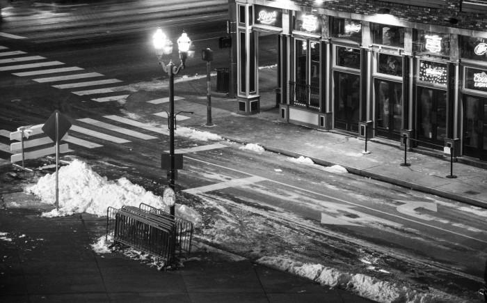 5) Those snowy Nashville streets