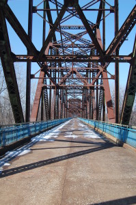 5.	Escape from New York, Chain of Rocks Bridge, St. Louis