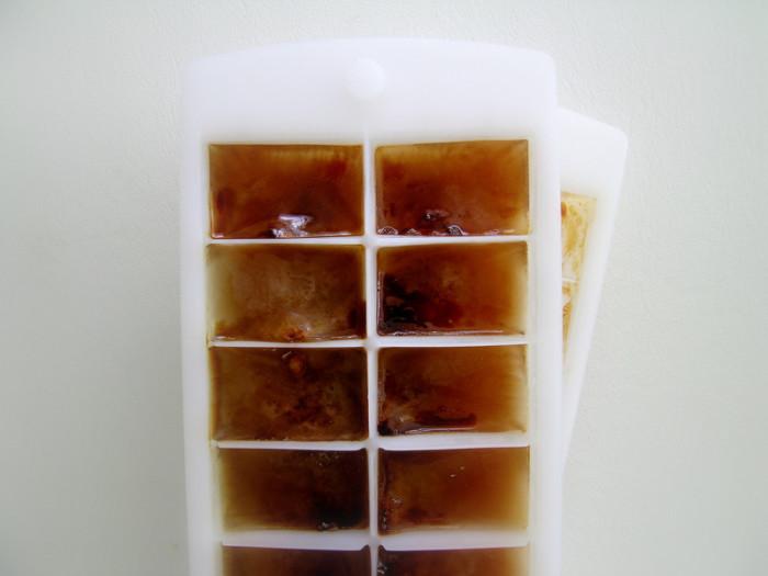 11. Make coffee ice cubes.