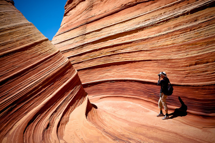 7. Add your name to the lottery for the Wave at Vermilion Cliffs