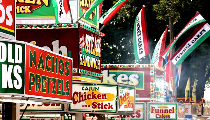 5. Going to the Iowa State Fair when you're on a diet.