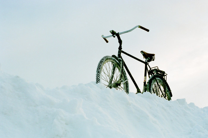 3. They crave fun outdoors. This comes in the form of more than one outdoor activity at a time. Riding a bike through snowbanks? Sure!