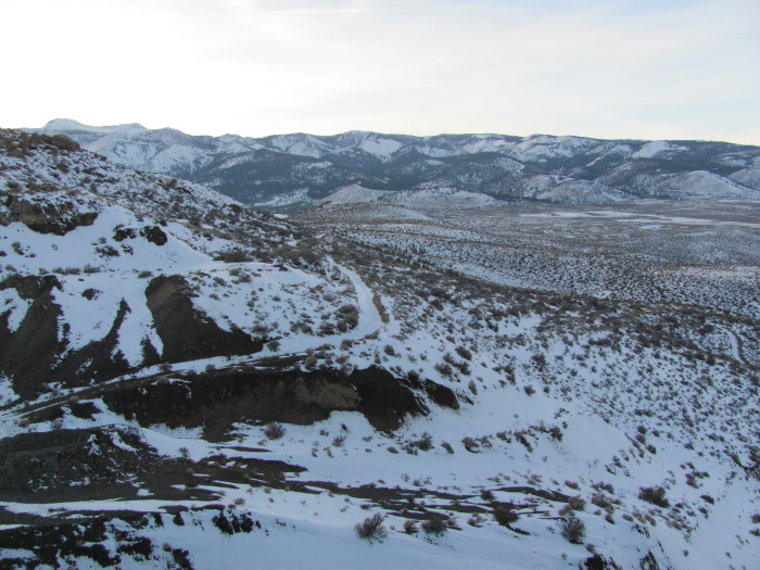 1. This beautiful photo of Steamboat Springs, blanketed in snow, was taken in December 2010.
