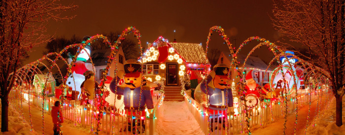 5. Woah! I wonder how much these decorations ended up costing...