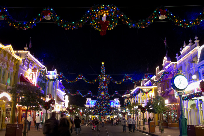 6. The Magic Kingdom is pretty magical this time of year, as well.