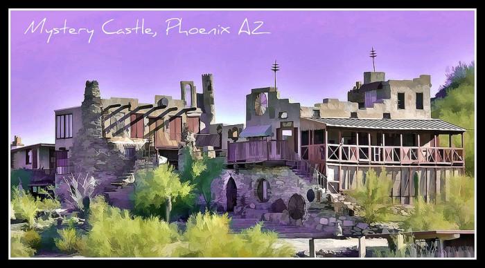 5. Mystery Castle, Phoenix