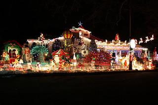 12. Cherry Hill Holiday Lights
