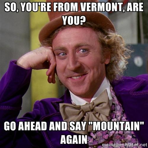 Vermont Travel Meme