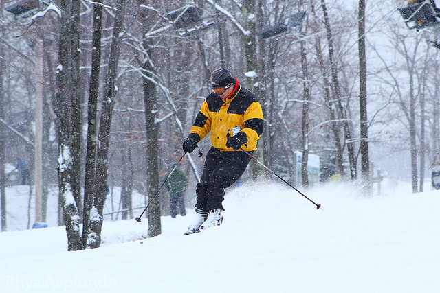 8. Pennsylvania is home to some amazing ski and snowboarding slopes that many people visit to ring out the holidays, such as the Poconos.
