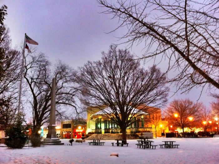 3. Downtown Decatur, GA - January 10, 2011