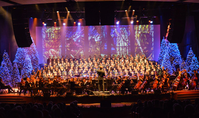 8. Christmas orchestra performances are unbeatable.