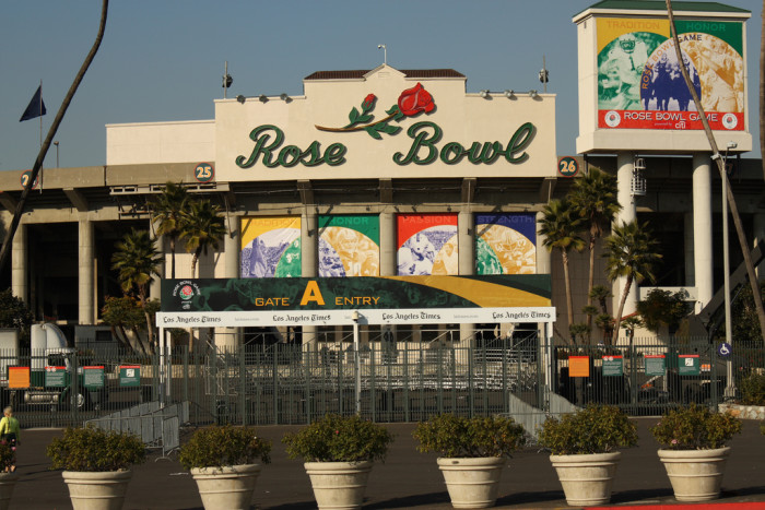 5. And they are now going to the Rose Bowl.