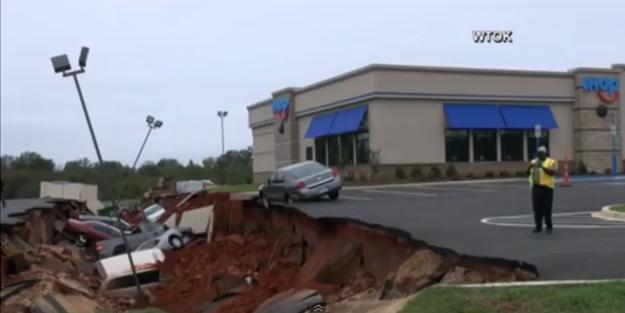 5. The IHOP parking lot cave-in.