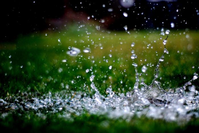 1. More precipitation