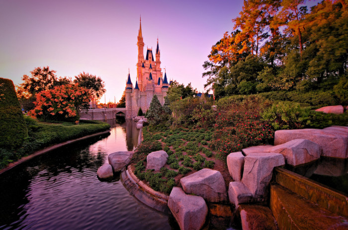 16. We can go to the Most Magical Place on Earth (and lots of other theme parks) whenever we want.