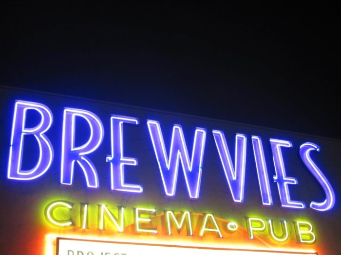 5. Watch a Movie and Drink a Beer...at the Theater