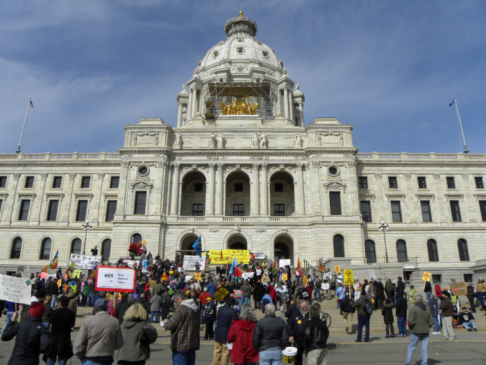 14. Minnesotans aren't afraid to speak their minds and stand up for what they believe in.