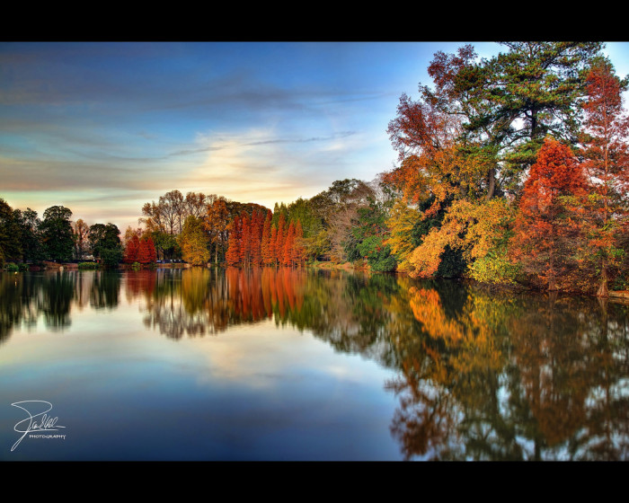 1. Autumn at Lake Clara Meer, Piedmont Park, Atlanta, Georgia
