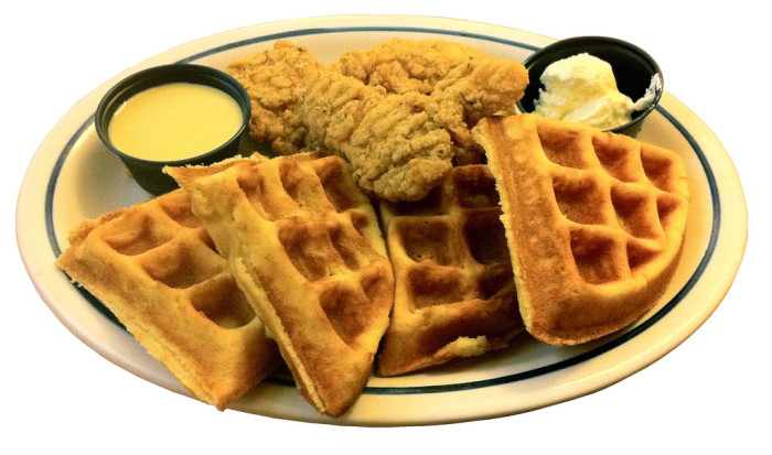 9. Chicken & Waffles