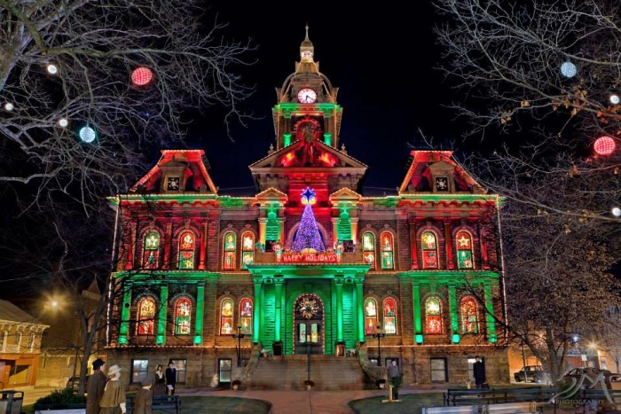 9. Our towns REALLY get into the holiday spirit.