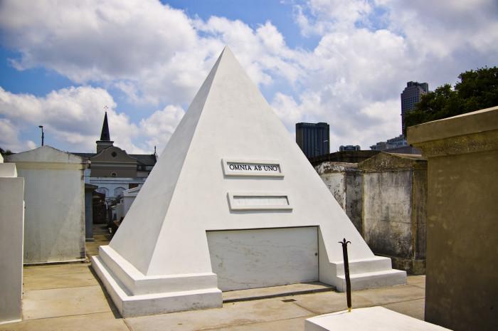 3. Nicholas Cage's Tomb, New Orleans, LA