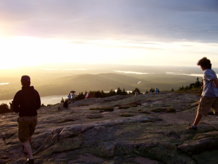 9. Sunset in the Mountains, Cadillac Mountain