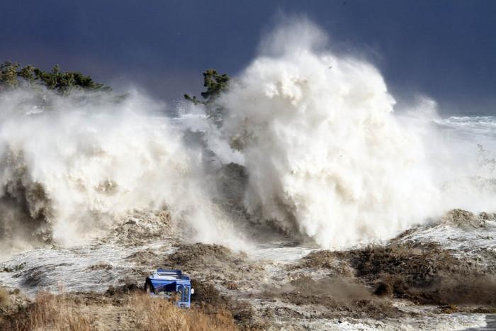 3. And an earthquake induced tsunami.