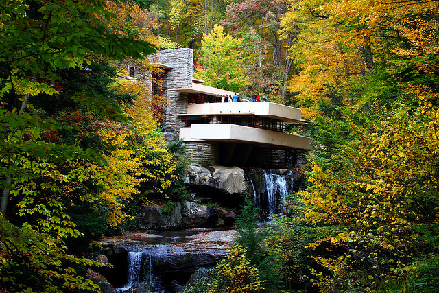 9. Visit Fallingwater, the coolest house in PA.