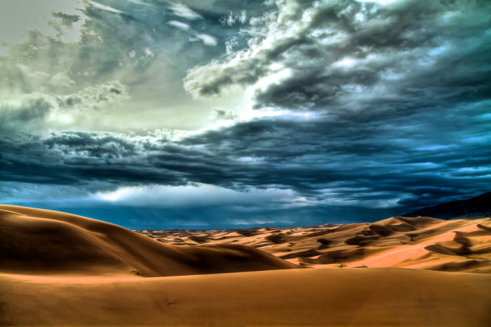 8. Several memorable visits to the spectacular Great Sand Dunes National Park and Preserve...