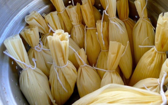 8. Tamales. If your family doesn't eat them for Christmas dinner, consider adding it to the menu.