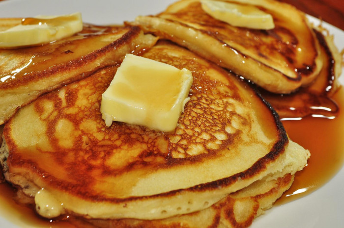 6.Convinced yourself or your family that pancakes are a legitimate dinner.