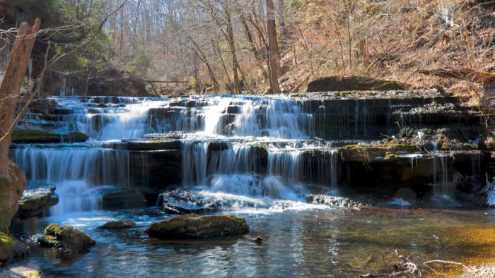 6) Lower Busby Falls