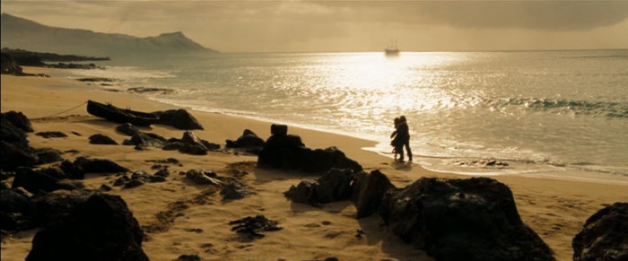 6) The small island of Molokai is where a large portion of Pirates of the Caribbean: At World's End was filmed.