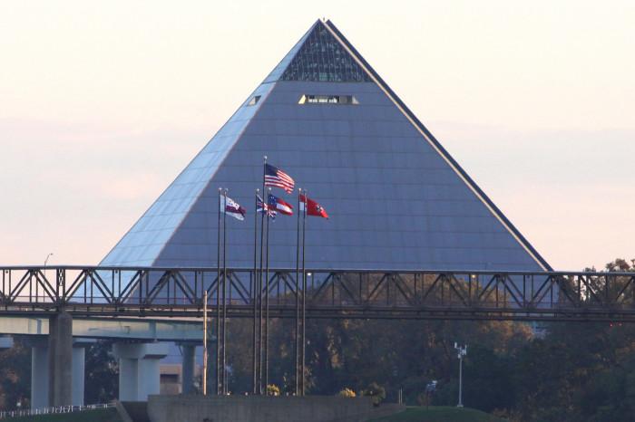 6) The Pyramid - Memphis