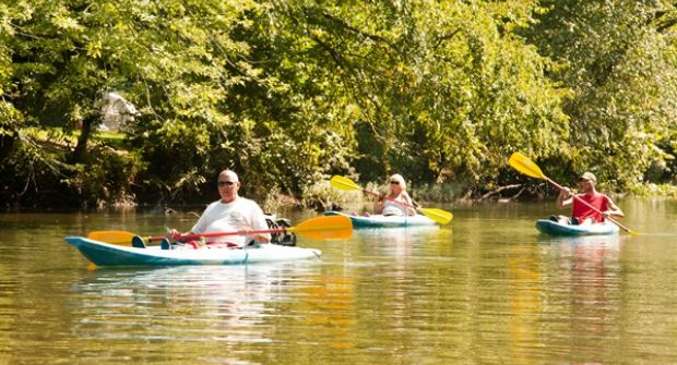 6.Take a float trip at Bass River Resort.