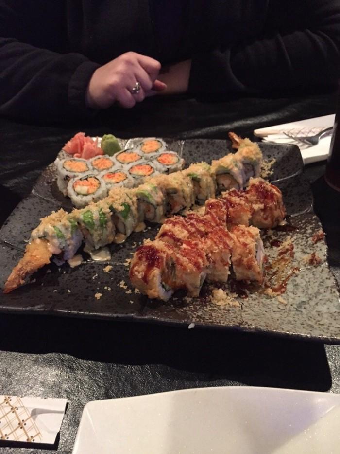 6.2. Fuji Japanese Seafood Shushi Bar & Grill