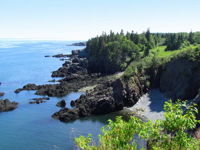 cutler bold coast preserve, cutler, maine