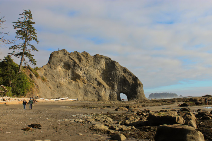 3. Hole-in-the-Wall at Rialto Beach