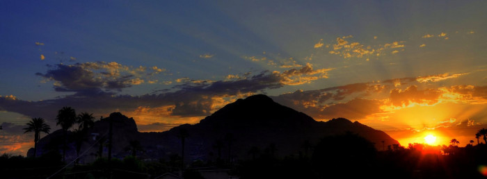 7. Another perfect winter hiking location: Camelback Mountain.