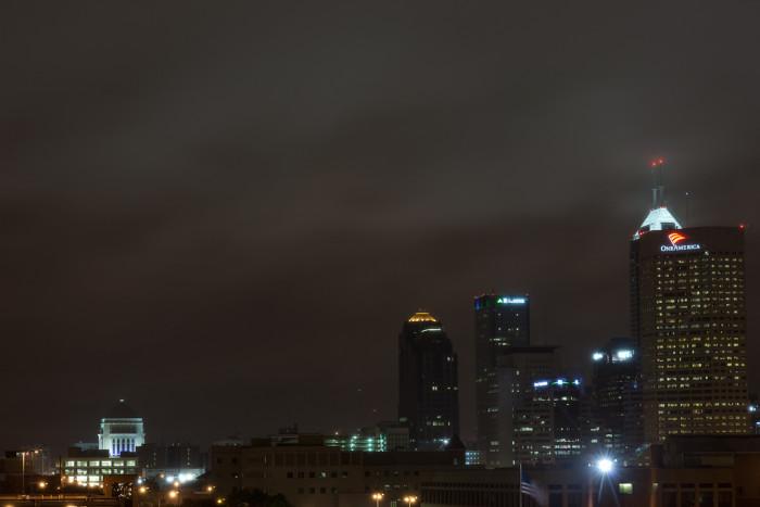 1. The gorgeous Indianapolis skyline.